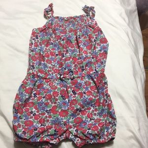 Carters baby floral romper 12 months